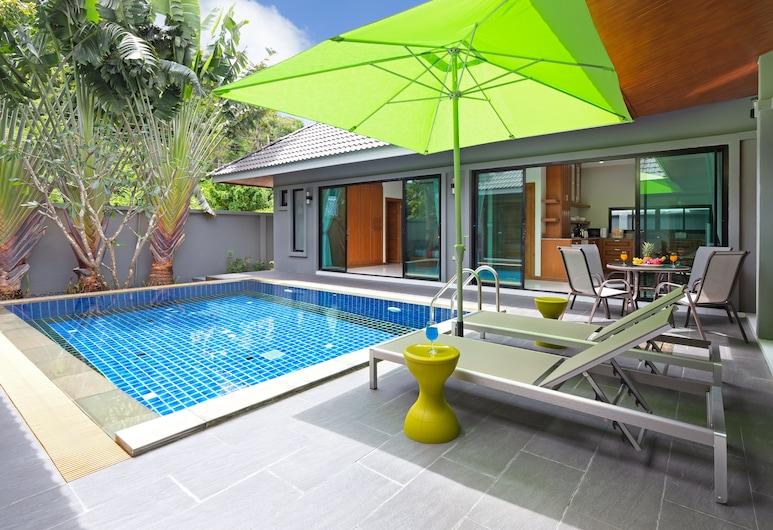 Elephant Palm 2, ראוואי, 3 Bedrooms Pool Villa, בריכה פרטית