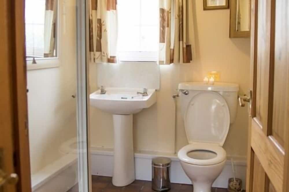 Rekreační domek typu Premier, soukromá koupelna (Buttercup) - Koupelna