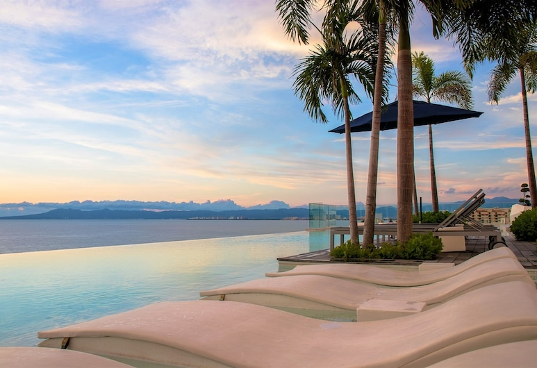 Terrace Two Bedroom Penthouse - Adults Only, Puerto Vallarta, Outdoor Pool