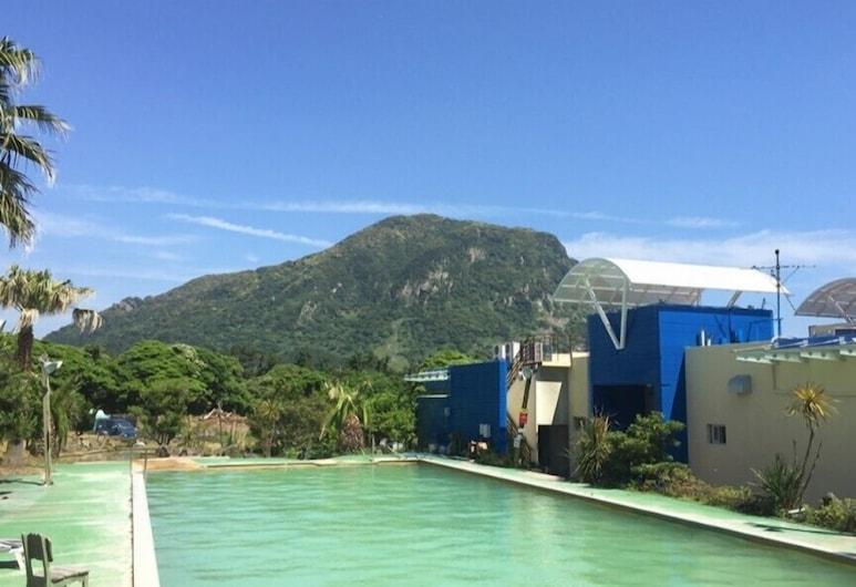 Sanbangsan Hot Spa Guesthouse - Hostel, Согвипхо, Открытый бассейн