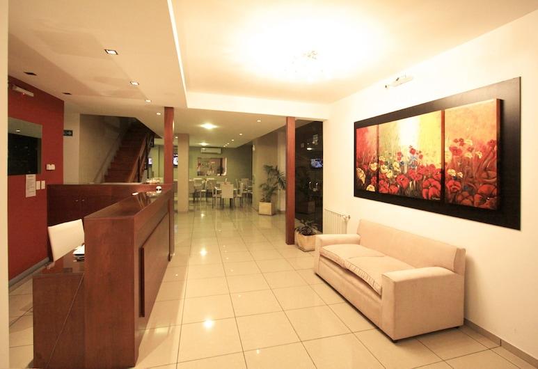 里約酒店, 卡洛斯拉巴斯別墅, 櫃台