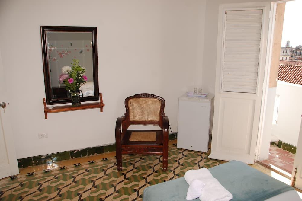 Quarto Twin Familiar, 2 camas individuais, Não-fumadores, Casa de Banho Partilhada - Varanda