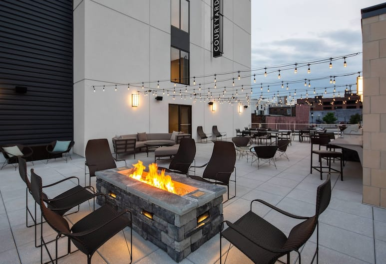 Residence Inn by Marriott Knoxville Downtown, Knoxville, Taras/patio