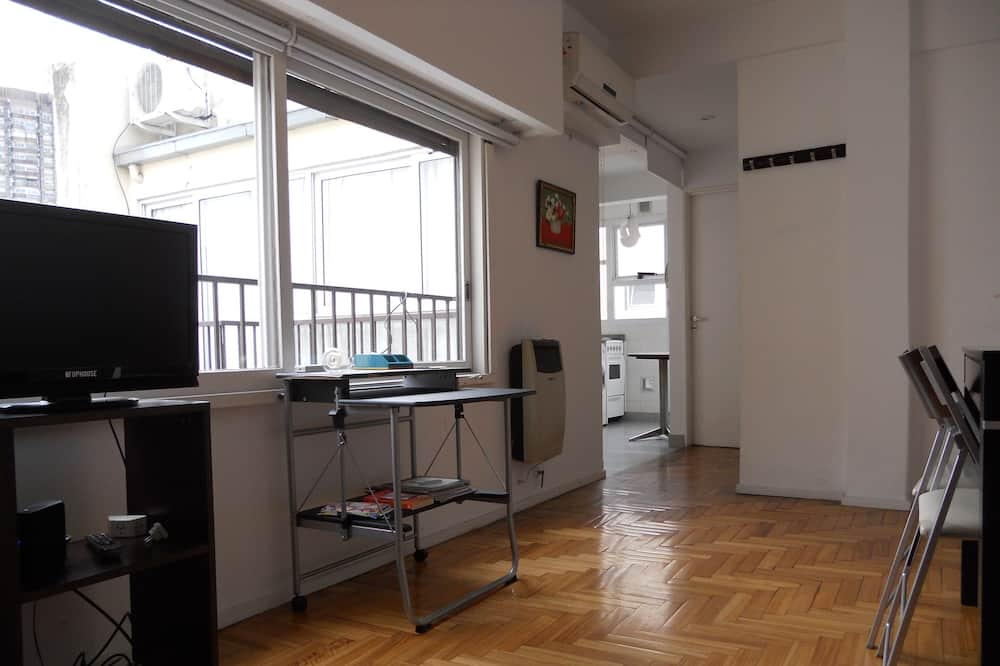 Basic Apartment, 1 Double Bed with Sofa bed, Non Smoking - Living Area