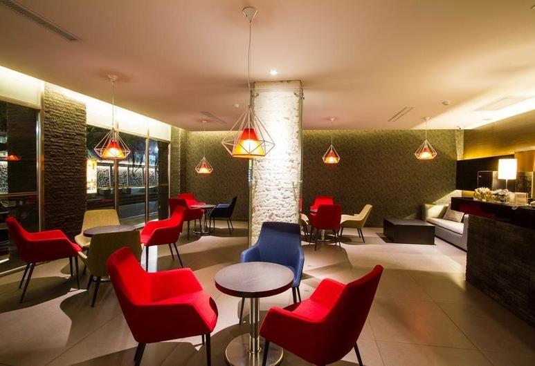 HAIFU HOTEL & SUITES, Jincheng, Sitteområde i lobbyen