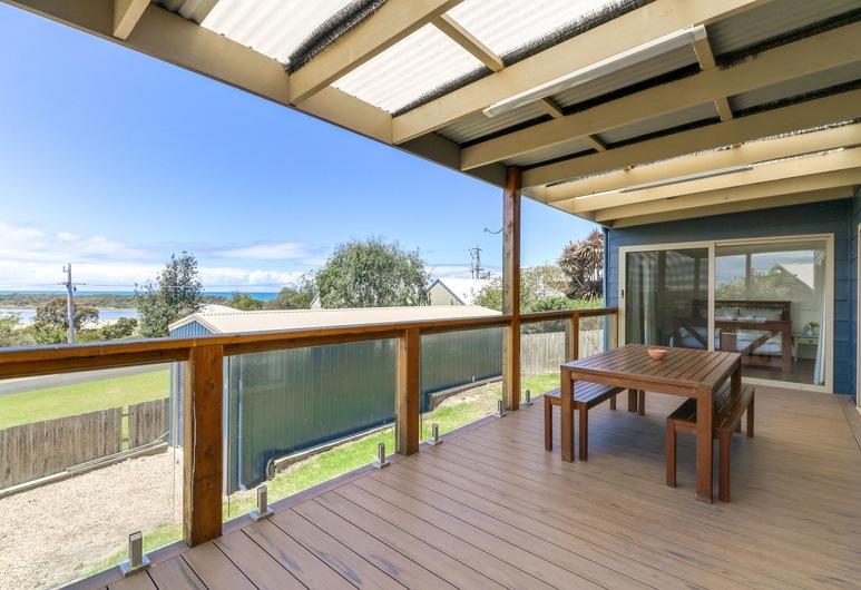 Outlook Views, Lake Tyers Beach, Casa, 3 habitaciones, vista al lago, Terraza o patio