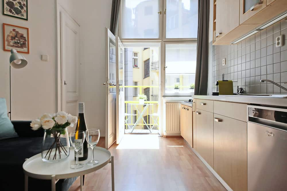 Apartamentai su patogumais - Vakarienės kambaryje