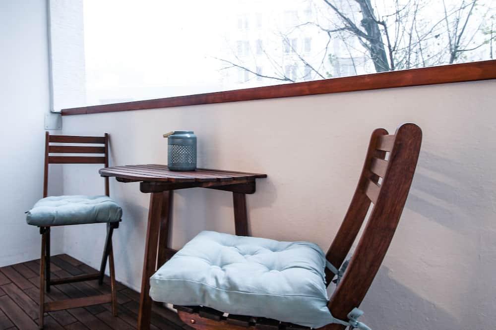 Comfort Apart Daire, 1 Büyük (Queen) Boy Yatak ve Çekyat, Sigara İçilmez, Şehir Manzaralı - Balkon