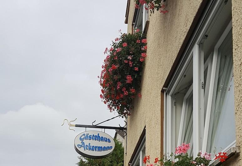 Gästehaus Ackermann, Mainz, Szoba kétszemélyes ággyal, Vendégszoba