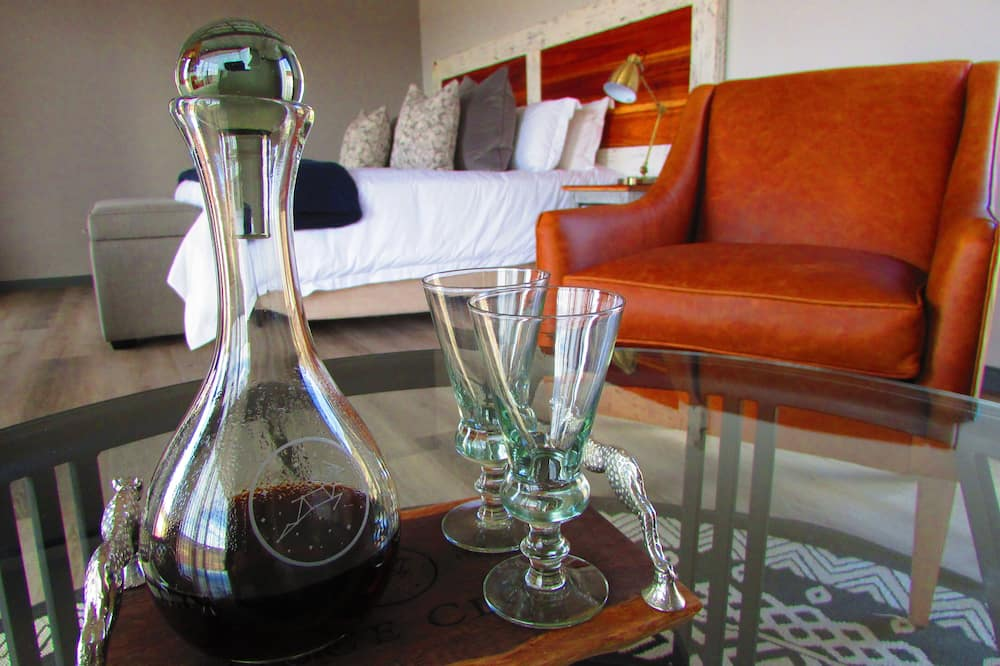 Luxus lakosztály - Nappali rész