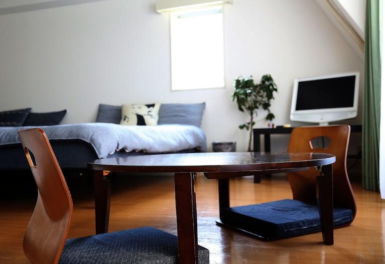 Guest House Euro Honmachi, 大阪市, アパートメント, リビング エリア