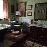 Liukso klasės kambarys (1 dvigulė / 2 viengulės lovos), atskiras vonios kambarys (External) - Vonios kambarys