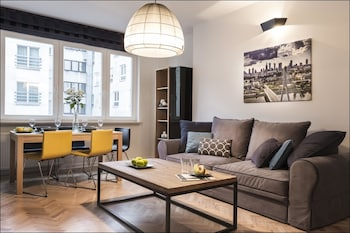 Foto av P&O Apartments Nowogrodzka i Warszawa