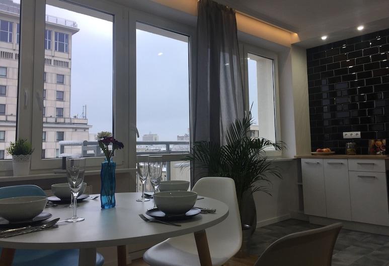 Smart Apart, Varšava, Apartmán, 2 spálne (Ul. Krucza 23/31), Obývacie priestory