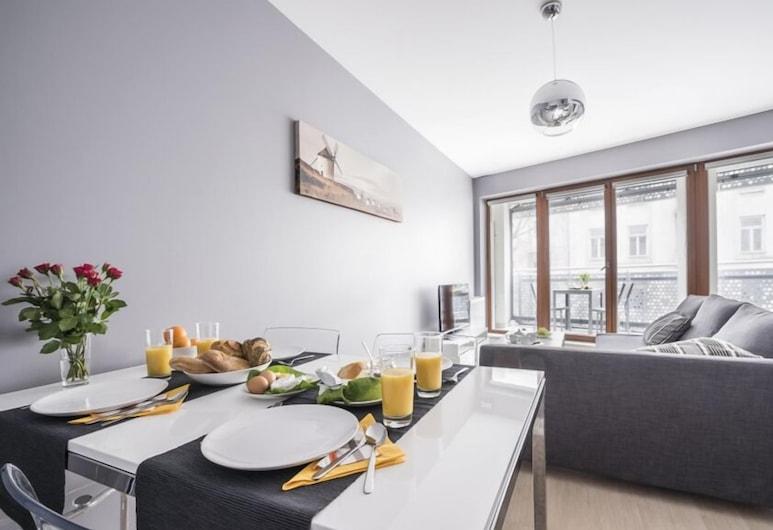 P&O Apartments Oxygen Wronia 1, Βαρσοβία, Economy Διαμέρισμα, Περιοχή καθιστικού
