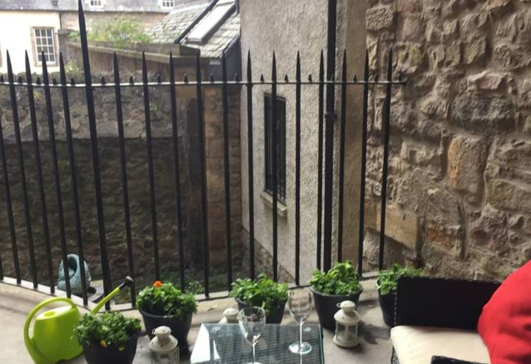 1 Bedroom Apartment With Balcony in Royal Mile, Edinburgh, Balkon