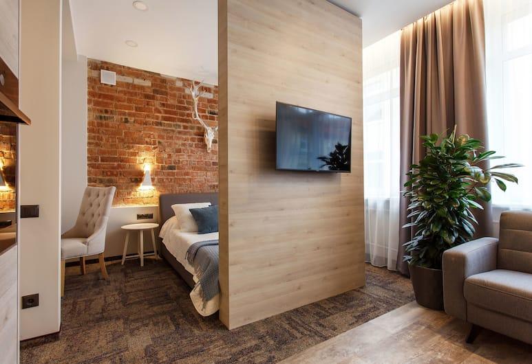 Old Town Trio Apartments, Vilnius, Family külaliskorter, 1 lai voodi, suitsetamine keelatud, Lõõgastumisala