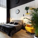 Апартаменты «Делюкс», 1 двуспальная кровать «Квин-сайз», для некурящих - Зона гостиной
