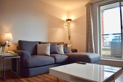 ダブリンの中心部にあるアパートメント、ベッドルーム