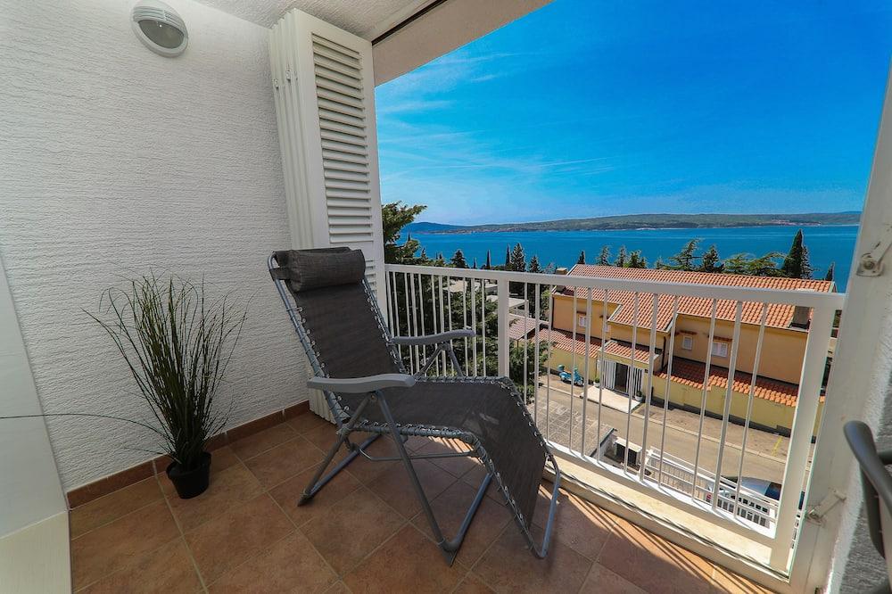 Apartemen, 2 kamar tidur, pemandangan laut - Ruang Keluarga