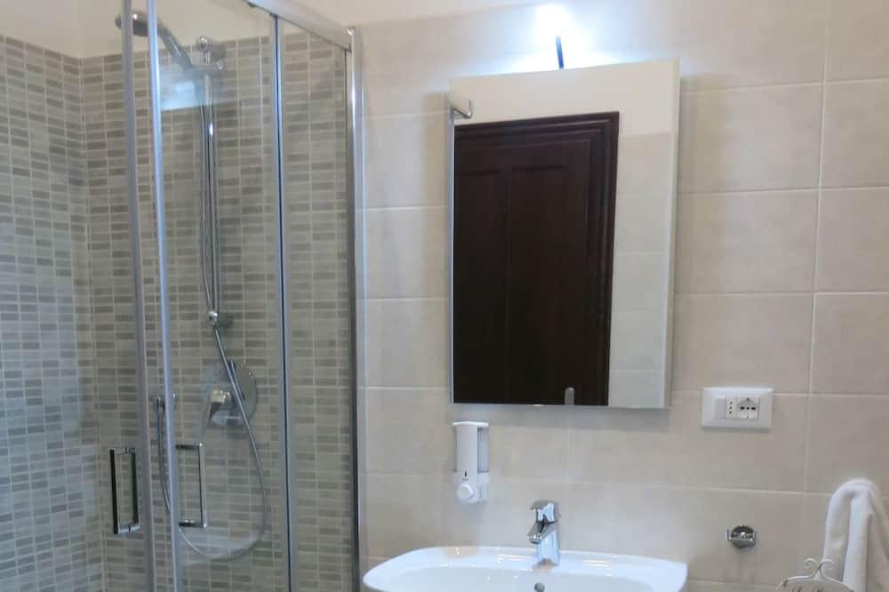 豪華公寓, 2 張加大雙人床, 露台, 城市景 (Without Breakfast) - 浴室