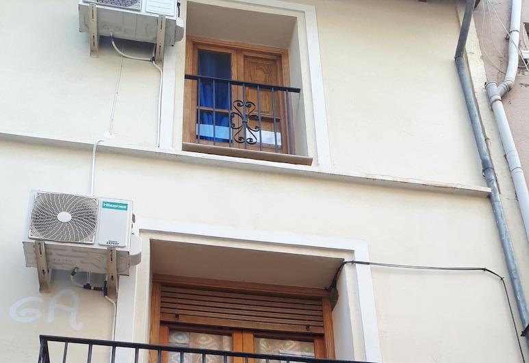 Casa Camino al Castillo, Xativa, Fachada del hotel
