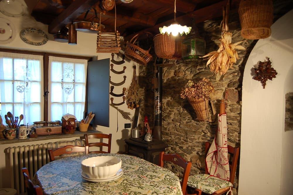 Exklusiv stuga - 3 sovrum (La Baita) - Matservice på rummet