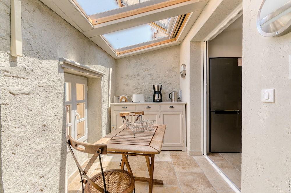 ดีลักซ์ลอฟท์, ห้องน้ำในตัว (2ème étage sous Toit) - วิวระเบียง