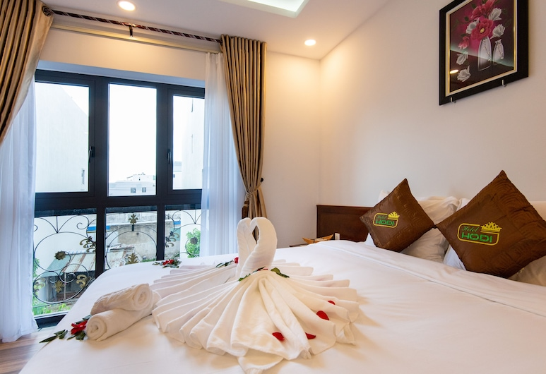 Hodi Hotel, Дананг, Двухместный номер «Делюкс» с 1 двуспальной кроватью, Номер