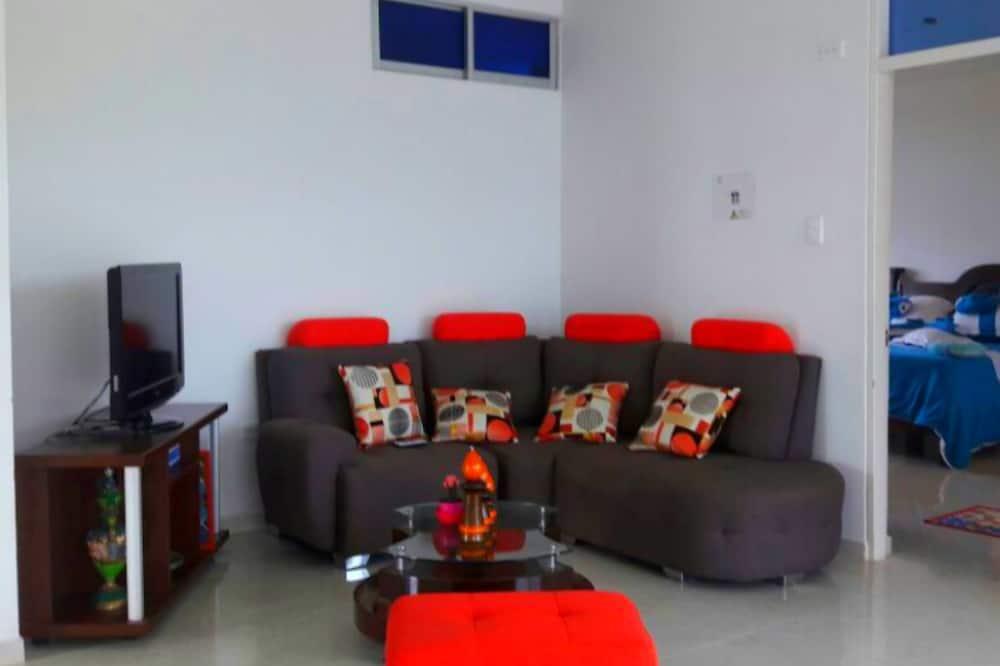 Maison, plusieurs lits, non-fumeurs - Salle de séjour