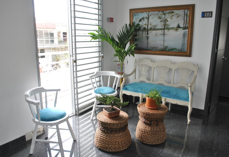 Hotel Siglo 21, קאלי, אזור ישיבה בלובי