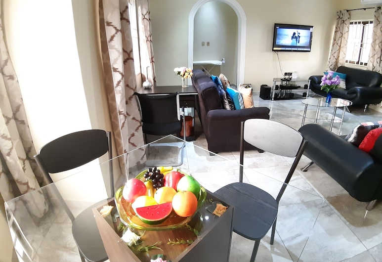 Gem Hospitalities, Accra, Apartment, Living Area