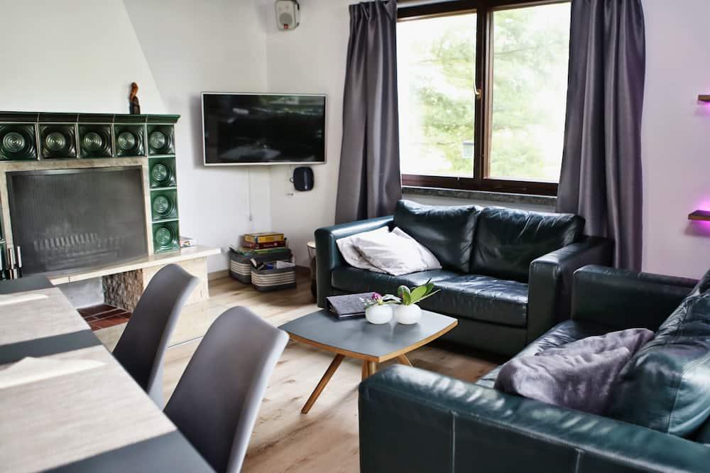 Mestský dom typu Comfort, výhľad na záhradu - Obývacie priestory
