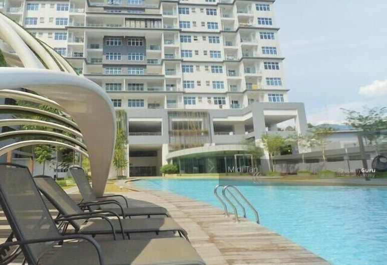 Skypod Residence, Puchong, Außenpool