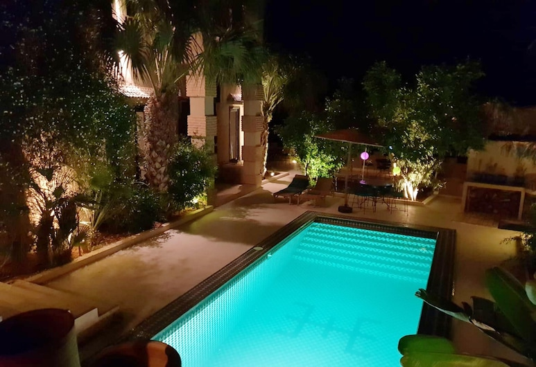 Villa With 7 Bedrooms in Taroudant, With Private Pool, Furnished Garden and Wifi, Taroudannt, Pool
