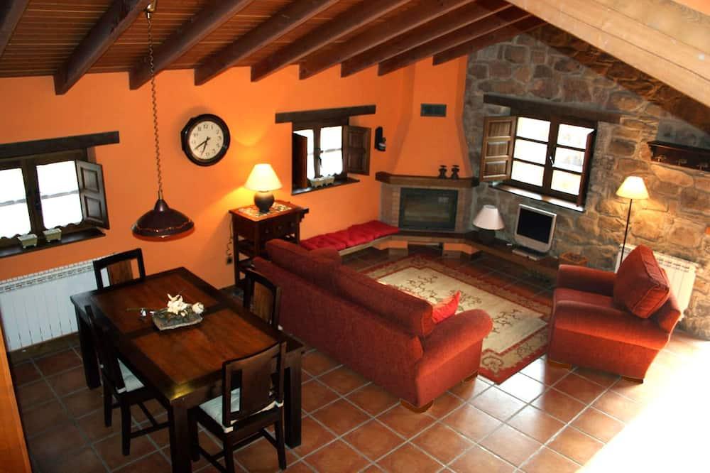 独立别墅, 2 间卧室, 无障碍, 热水浴缸 (El Palacio) - 起居室