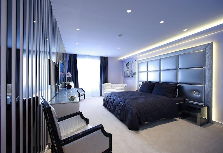 Hotel 9, Zagreb, Luxury King Room, Vierashuone