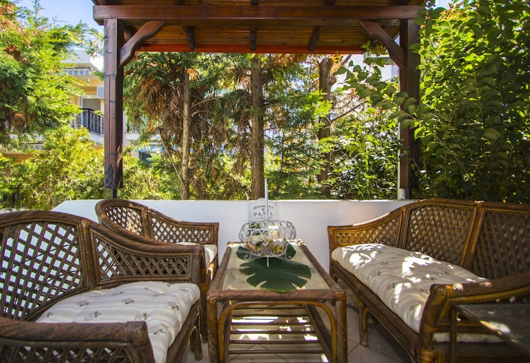 Duret Sea Side Villa, Kassandra, Willa, Balkon