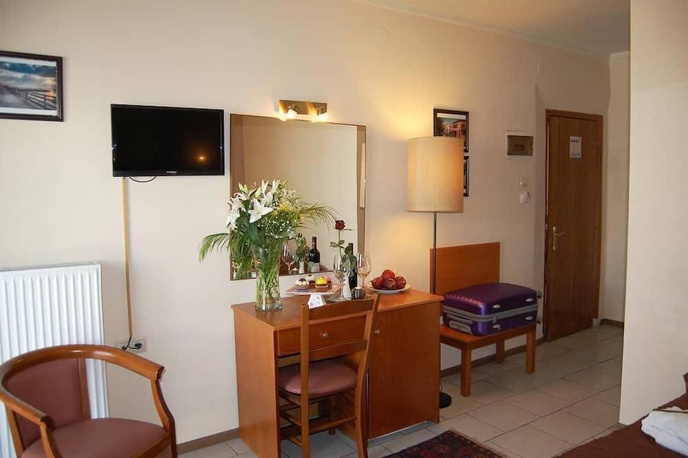 싱글룸, 싱글침대 1개, 금연 - 거실 공간