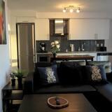 Apartmán typu Classic, 1 veľké dvojlôžko, nefajčiarska izba - Obývacie priestory