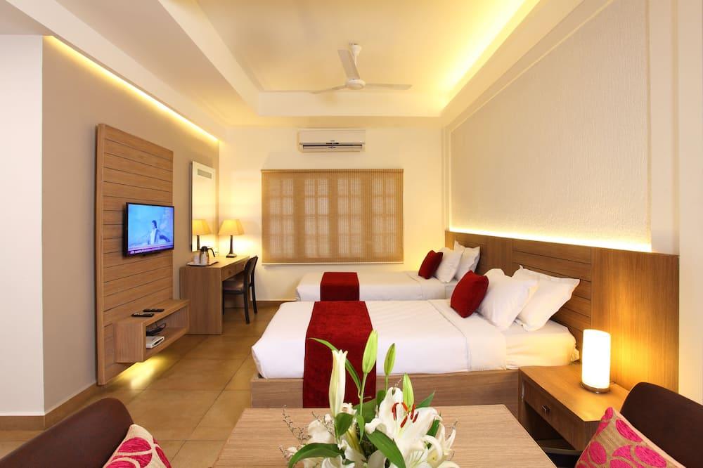 Standardzimmer, Mehrere Betten, barrierefrei, Raucher - Zimmer