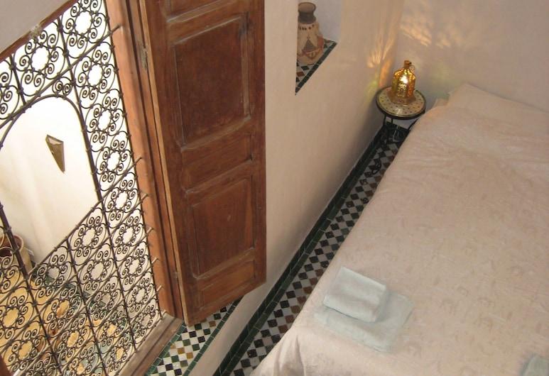 Dar Houdou, Fez, Habitación doble Confort, 1 cama doble, para no fumadores, Habitación