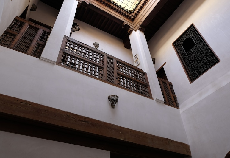 Dar Houdou, Fes, Interior do hotel