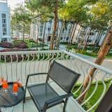 尊榮雙人或雙床房, 1 間臥室, 花園景觀 - 陽台