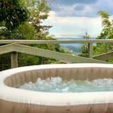 Romantic Single Room, 1 Queen Bed, City View, Mezzanine (Luna Estelar) - Terrace/Patio