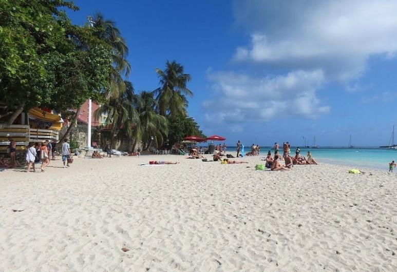 Unten Villa zu vermieten, saisonale Vermietung, Le Gosier, Strand
