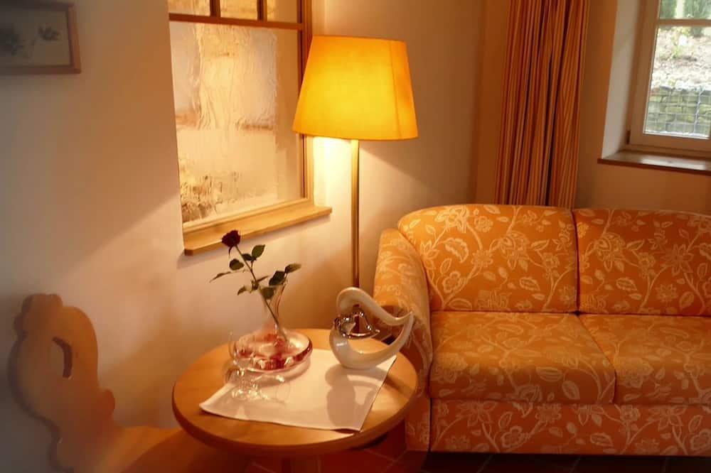 Romantic Süit, Sauna (Romantik Pur) - Oturma Alanı