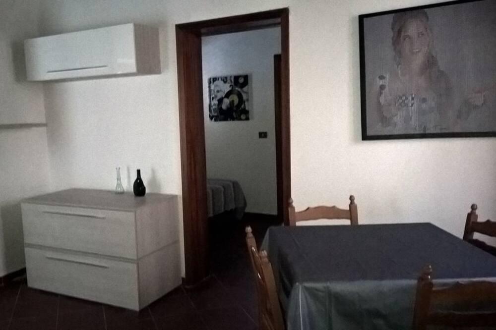 Appartement, 1 slaapkamer, op benedenverdieping - Eetruimte in kamer