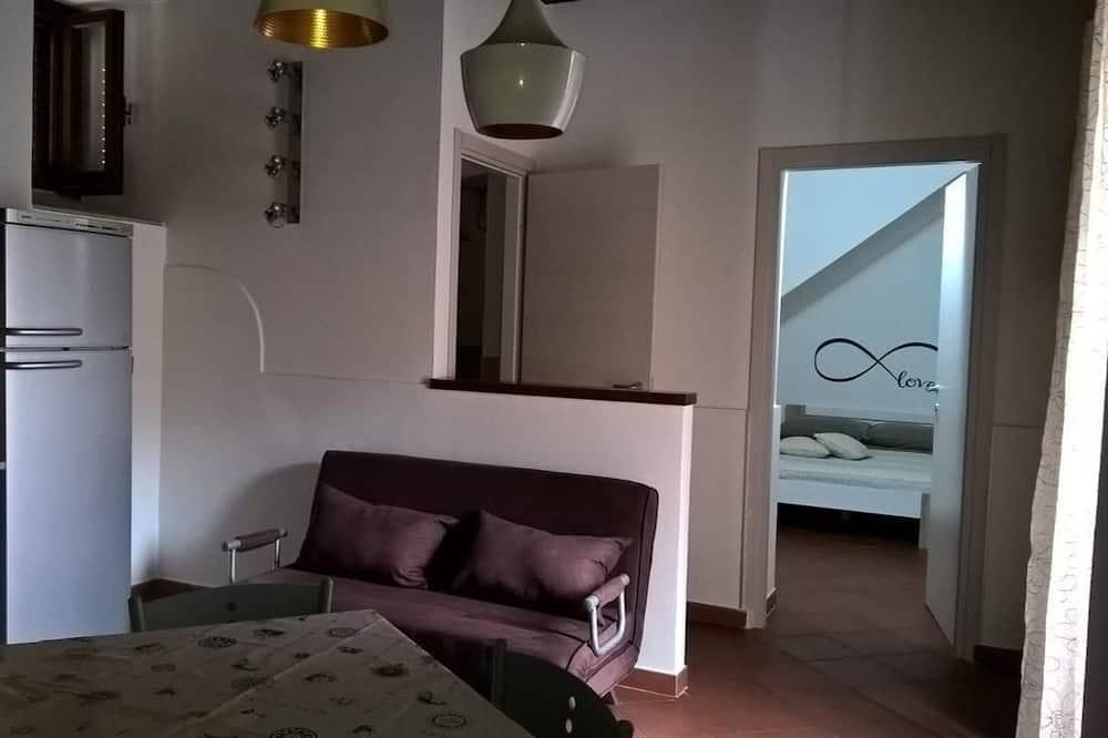 Comfort appartement, 1 queensize bed met slaapbank, niet-roken - Woonruimte