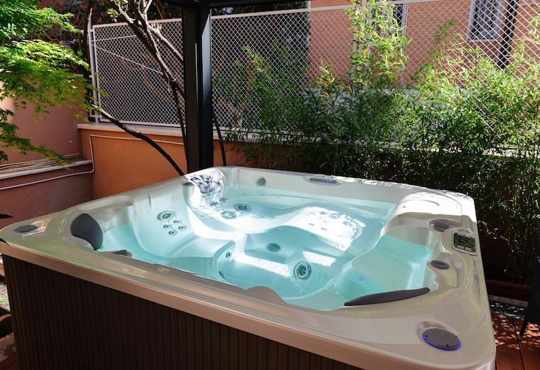 蒙特維多旅館, 羅馬, 室外 SPA 浴池